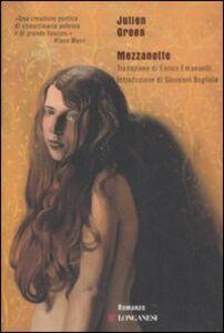 Libro Mezzanotte Julien Green