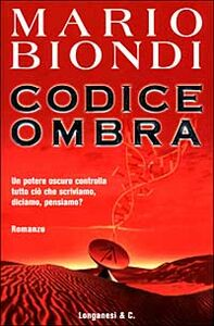 Libro Codice ombra Mario Biondi