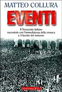 Libro Eventi Matteo Collura