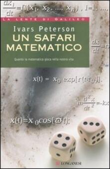 Grandtoureventi.it Un safari matematico. Quanto la matematica gioca nella nostra vita Image
