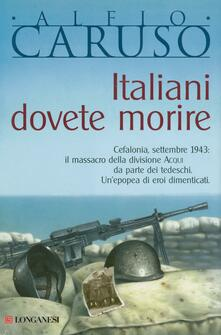 Festivalshakespeare.it Italiani dovete morire Image