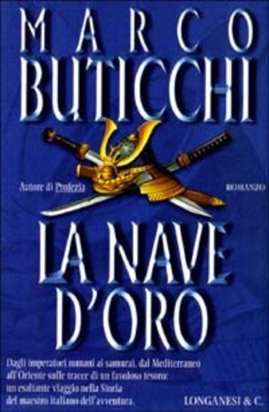 La nave d'oro - Marco Buticchi - copertina