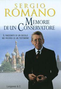 Libro Memorie di un conservatore Sergio Romano