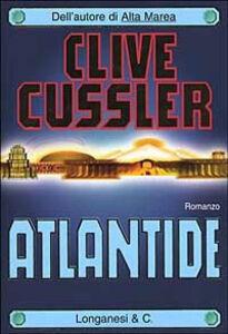 Libro Atlantide Clive Cussler