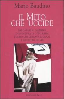 Il mito che uccide - Mario Baudino - copertina