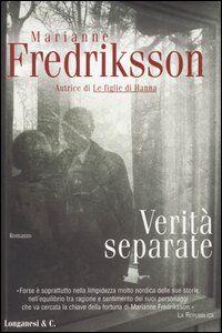 Libro Verità separate Marianne Fredriksson