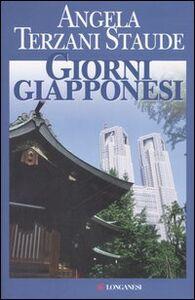 Libro Giorni giapponesi Angela Terzani Staude