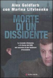 Libro Morte di un dissidente Alex Goldfarb , Marina Litvinenko