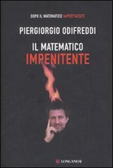 Il matematico impenitente - Piergiorgio Odifreddi - copertina