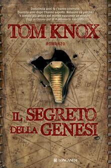 Il segreto della Genesi - Tom Knox - copertina