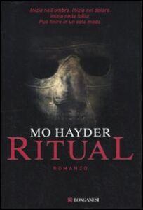Libro Ritual Mo Hayder
