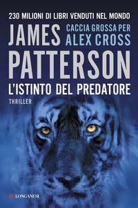 Libro L' istinto del predatore James Patterson