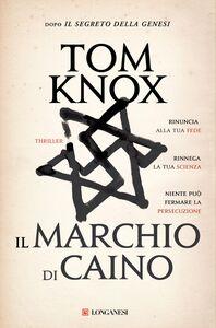 Libro Il marchio di Caino Tom Knox
