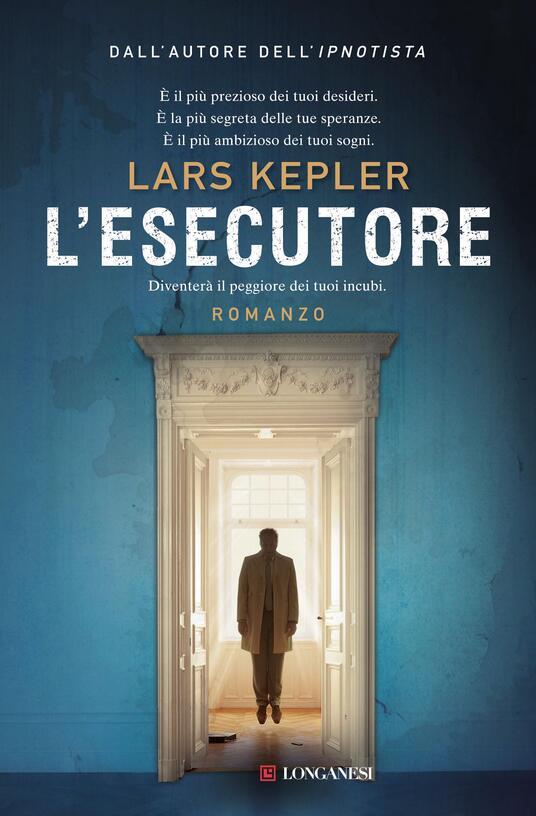 L' esecutore - Lars Kepler - copertina