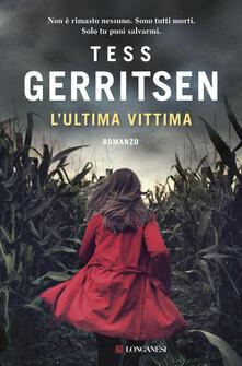 L' ultima vittima - Tess Gerritsen - copertina