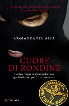 Cuore di rondine - Comandante Alfa - copertina