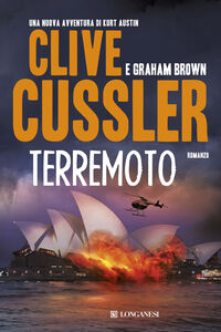 Libro Terremoto Clive Cussler , Graham Brown