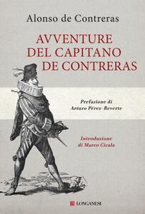 Libro Avventure del capitano de Contreras Alonso de Contreras