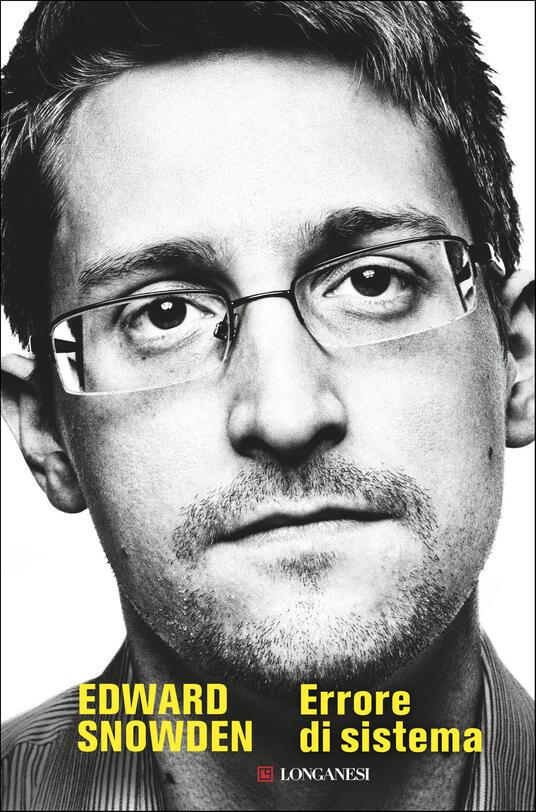 Errore di sistema - Edward Snowden - copertina