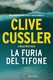 La furia del tifone - Clive Cussler,Boyd Morrison - copertina