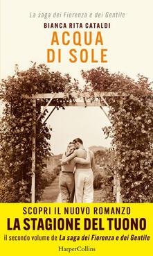 Acqua di sole - Bianca Rita Cataldi - ebook