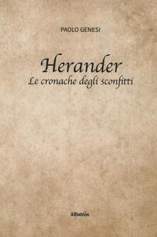 Ilmeglio-delweb.it Herander. Le cronache degli sconfitti Image
