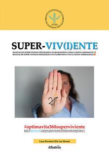 Super-viv(i)ente - Luca Povoleri - copertina
