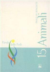 Libro Animali Paolo De Benedetti