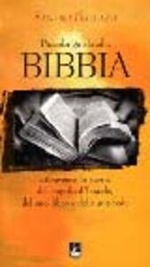 Foto Cover di Piccola guida alla Bibbia. Attraverso la storia del popolo d'Israele, del suo libro e della sua fede, Libro di Sandro Gallazzi, edito da EMI
