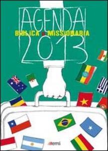 Agenda biblica e missionaria 2013