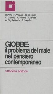 Foto Cover di Giobbe: il problema del male nel pensiero contemporaneo, Libro di  edito da Cittadella