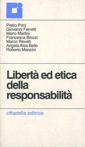 Libertà ed etica della responsabilità