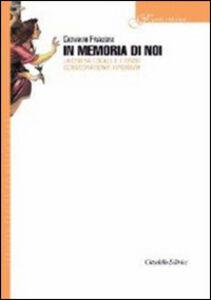 Libro In memoria di noi. La chiesa locale e l'Ordo consecrationis virginum Giovanni Frausini