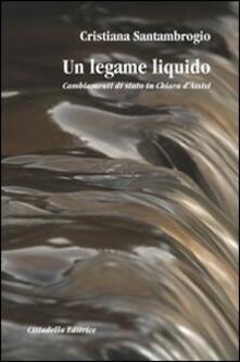Antondemarirreguera.es Un legame liquido. Cambiamenti di stato in Chiara d'Assisi Image