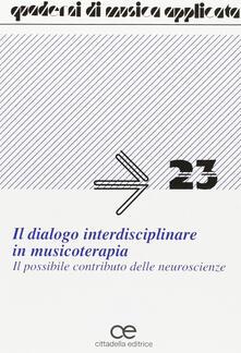 Daddyswing.es Il dialogo interdisciplinare in musicoterapia. Il possibile contributo delle neuroscienze Image