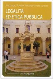 Legalità ed etica pubblica