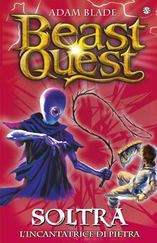 Listadelpopolo.it Soltra. L'incantatrice di pietre. Beast Quest. Vol. 9 Image
