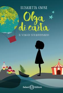 Squillogame.it Il viaggio straordinario. Olga di carta. Con Poster Image