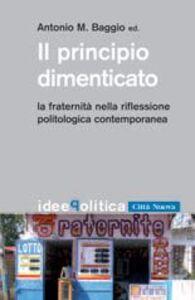 Foto Cover di Il principio dimenticato. La fraternità nella riflessione politologica contemporanea, Libro di  edito da Città Nuova