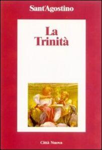 Libro La trinità Agostino (sant')