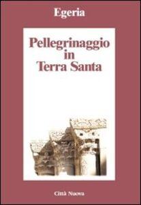 Foto Cover di Pellegrinaggio in Terra Santa, Libro di Egeria, edito da Città Nuova