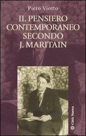 Il pensiero contemporaneo secondo J. Maritain