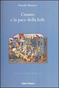 Foto Cover di Cusano e la pace della fede, Libro di Davide Monaco, edito da Città Nuova