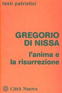 Foto Cover di L' anima e la risurrezione, Libro di Gregorio di Nissa (san), edito da Città Nuova
