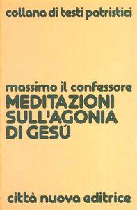 Libro Meditazioni sull'agonia di Gesù Massimo Confessore (san)