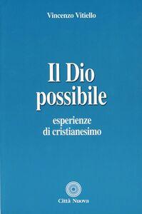 Foto Cover di Il Dio possibile. Esperienze di cristianesimo, Libro di Vincenzo Vitiello, edito da Città Nuova