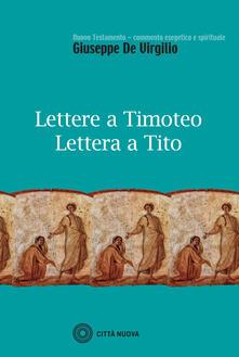 Voluntariadobaleares2014.es Lettere a Timoteo-Lettera a Tito Image