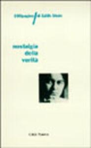 Foto Cover di Nostalgia della verità. 100 pagine di Edith Stein, Libro di  edito da Città Nuova
