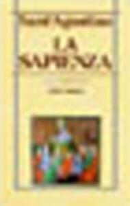 Libro La sapienza Agostino (sant')