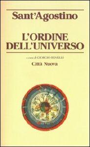 Foto Cover di L' ordine dell'universo, Libro di Agostino (sant'), edito da Città Nuova